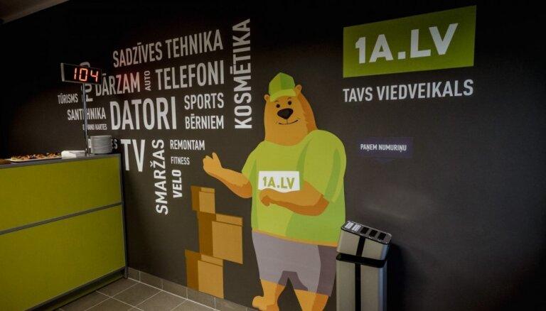 Интернет-магазин 1a.lv не вернул клиенту вовремя 420 евро