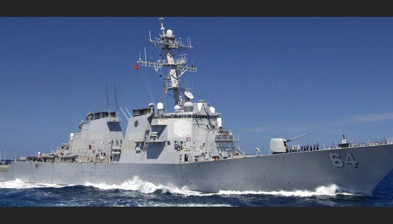 Парад в Петербурге отменили из-за американского эсминца