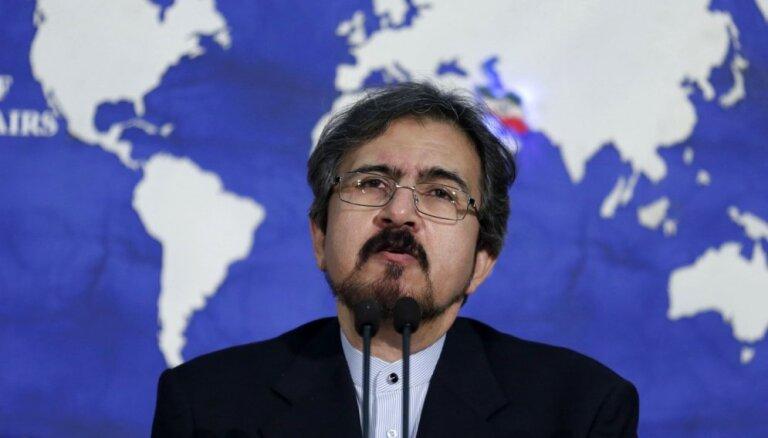 Irāna: ASV karaspēka klātbūtne Sīrijā bija 'aplama un neloģiska'