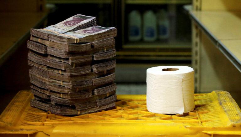 Venecuēlas ekonomiskā zemestrīce – suverēno bolivāru piesaista kriptovalūtai