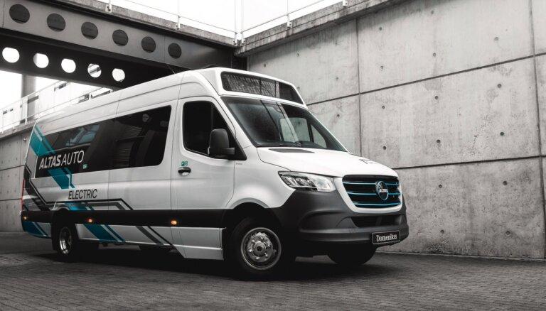 'Nordeka' īpašumā nonāks Baltijā izstrādāti un būvēti elektro mikroautobusi