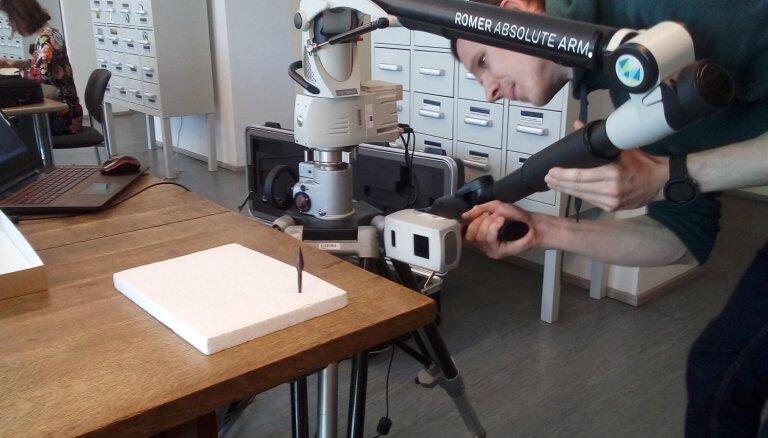 Izmantojot 3D druku, rada akmens laikmeta artefaktu kopijas