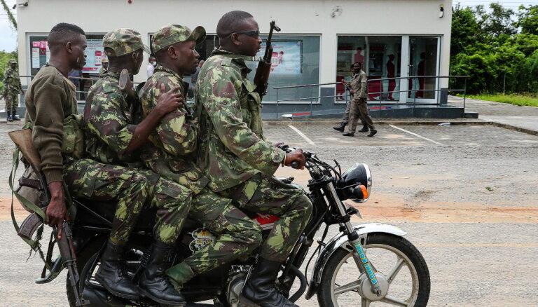 Mozambikā izcēlušās bruņotas sadursmes starp ārvalstu karavīriem un islāmistiem