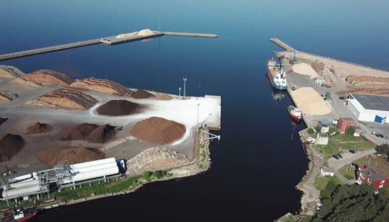 Порт в Скулте получил 2,7 млн евро на реконструкцию причала и строительство склада
