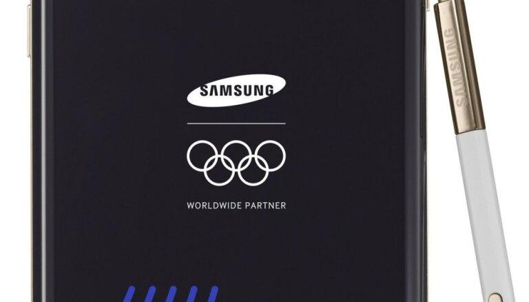 SOK pagarinājuši līgumu ar ilggadējiem oficiālajiem sponsoriem 'Samsung'
