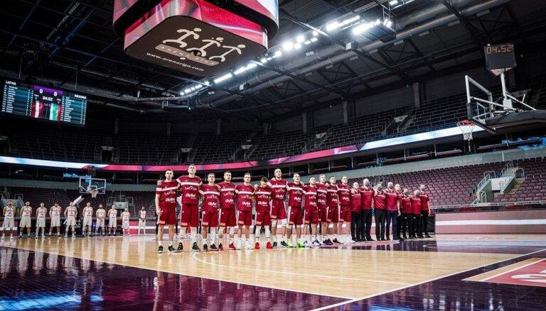 Latvija pieteiksies rīkot Pasaules kausa basketbolā priekškvalifikācijas sabraukumu