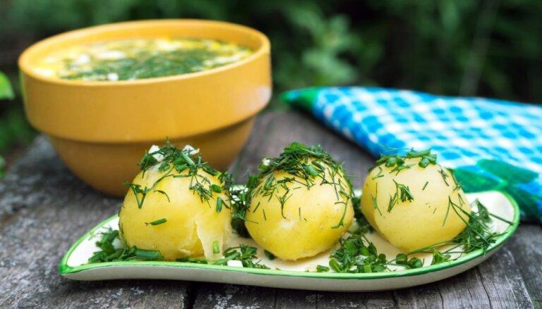 Ar karoti sist pa pieri un nospļauties: kas jādara, pirmo reizi ēdot jaunos kartupeļus