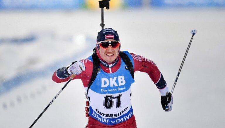 Rastorgujevs Pasaules kausa posmā ieņem 34. vietu individuālajā distancē