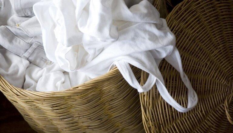 Sasmakusi un saburzīta pat pēc mazgāšanas: kā pareizi grozā glabāt netīro veļu