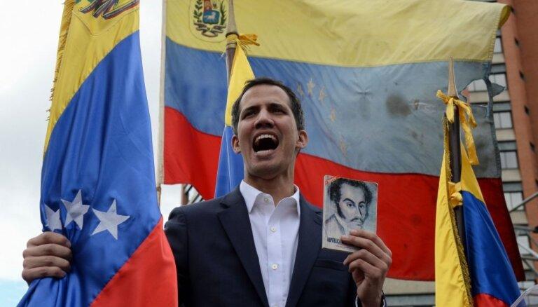 Venecuēlas opozīcijas līderis tiek apsūdzēts apvērsuma mēģinājumā