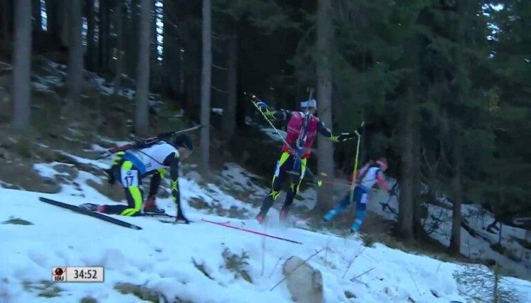 Французский биатлонист: Шипулин повел себя некрасиво