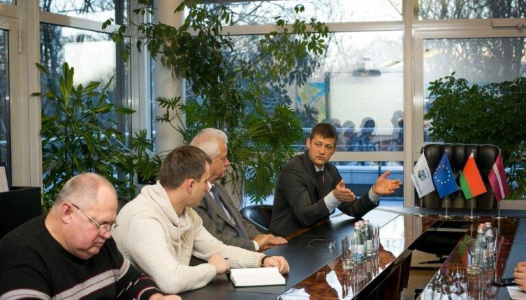 Рижский порт посетили представители Министерства лесного хозяйства Беларуси