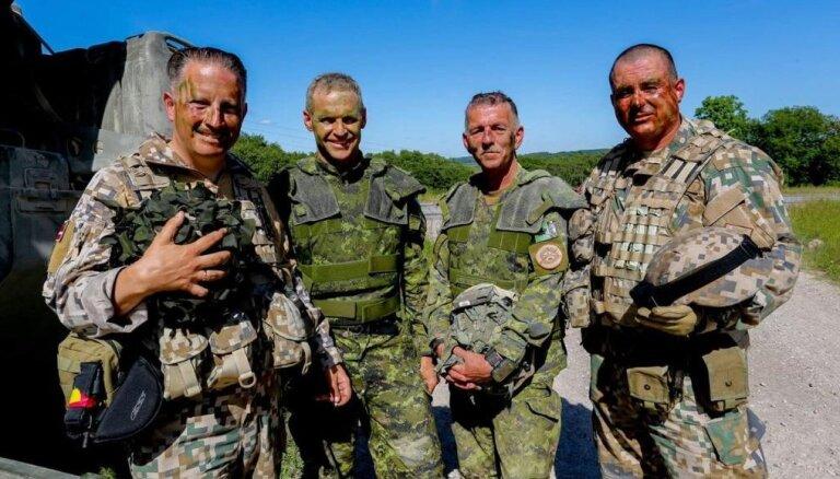 Latvijas Nacionālie bruņotie spēki ir nobrieduši, bet militārā industrija vēl agrīnā fāzē