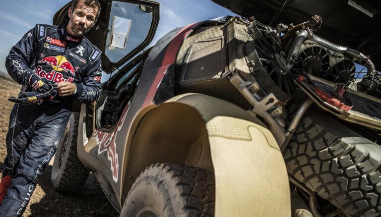 Sebastjens Lēbs Dakaras rallijā baidās apmaldīties