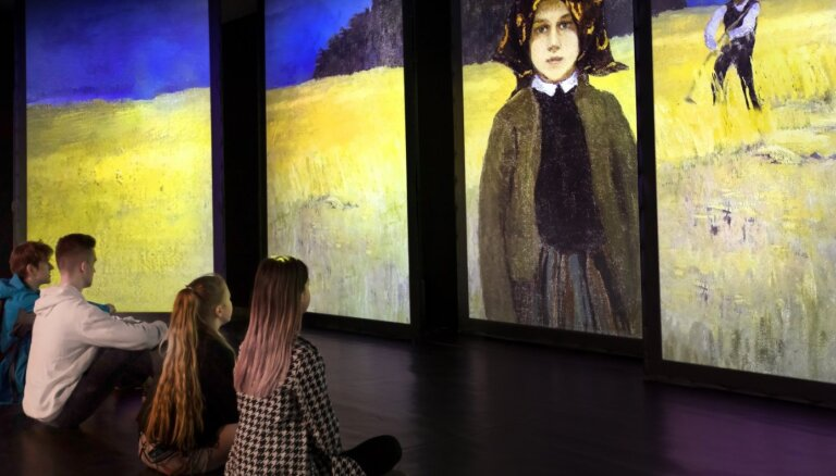 Latviešu vecmeistaru gleznas atdzīvosies īpašā multimediju perfomancē Cēsīs
