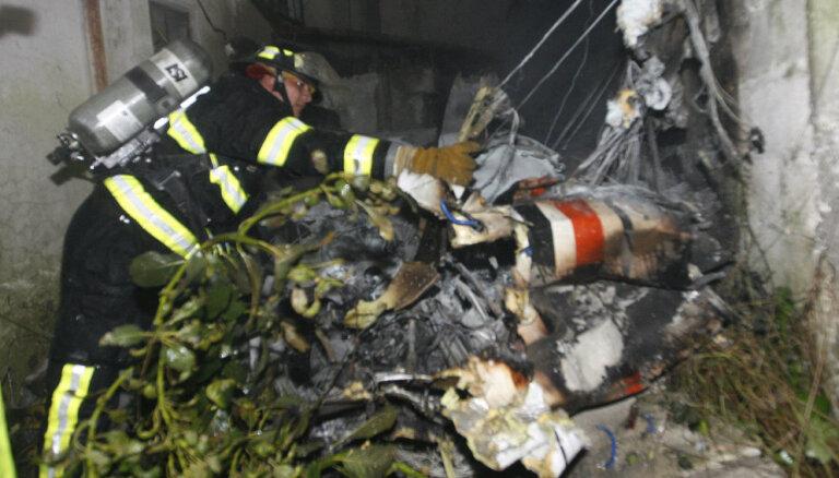 Самолет с наркотиками упал и сгорел в Эквадоре