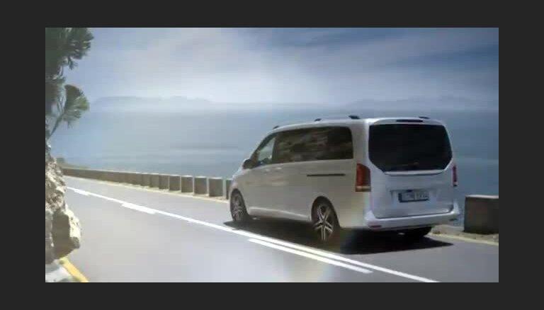 Jaunais 'Mercedes-Benz' V-klases mikroautobuss