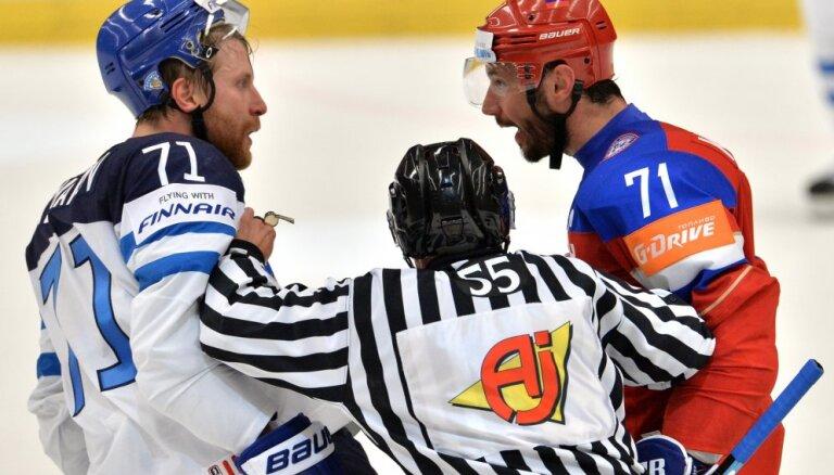 Сегодня на чемпионате мира - полуфиналы Россия - Финляндия и Канада - Чехия