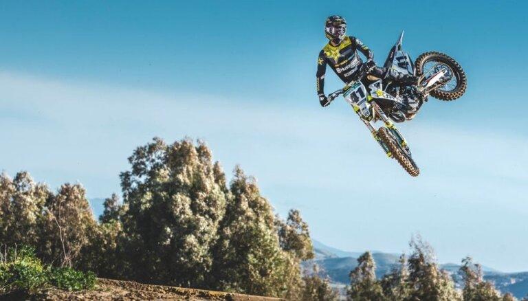 Jonass: Man ļoti patīk braukt ar MXGP klases motociklu