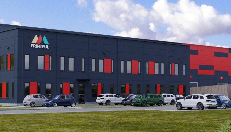 'Printful' ieguldīs 4 miljonus eiro ražotņu izveidē Lielbritānijā un Polijā
