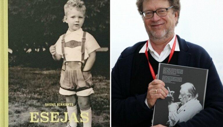 Izdotas latviešu izcelsmes amerikāņu publicista Svena Birkerta 'Esejas'