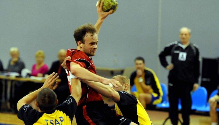 Latvijas U-19 handbolisti zaudē Rīgā notiekošā EČ B divīzijas turnīra pusfinālā