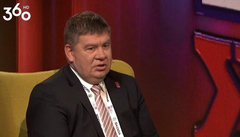 Aigars Kalvītis par federācijas ambīcijām sauc PČ medaļu izcīnīšanu