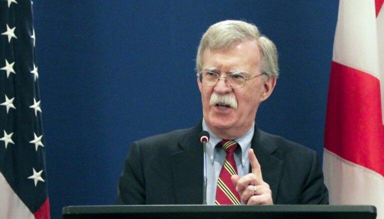 Boltons slavē Bolsonaru, nosauc viņu par līdzīgi domājošu partneri