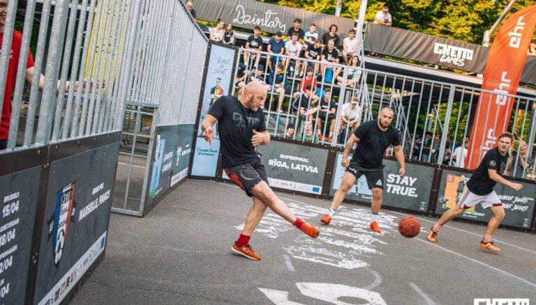 'Ghetto Football' komandas cīnīsies par 10 000 eiro balvu fondu