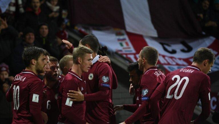 Рейтинг ФИФА: Сборная Латвии ниже Суринама и Коморских островов