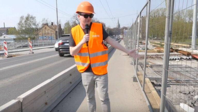 Video: Tiltu pazinējs Rūdolfs analizē Deglava ielas pārvada stāvokli