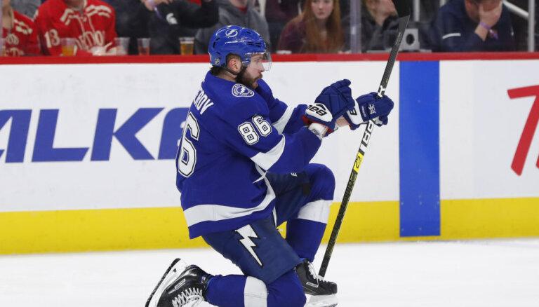 НХЛ: Кучеров стал лучшим бомбардиром сезона и побил рекорд Могильного