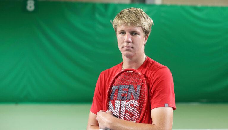 Vēl viens Ozoliņš Latvijas sporta kartē. Saruna ar 'Australian Open' pusfinālistu