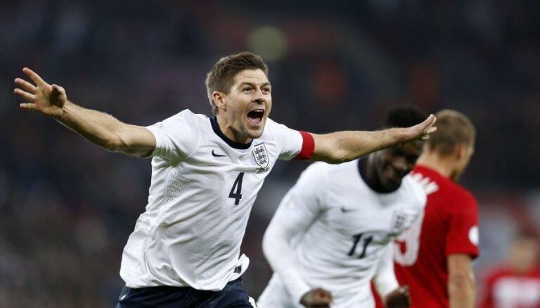 Джеррард завершил 14-летнюю карьеру в сборной Англии