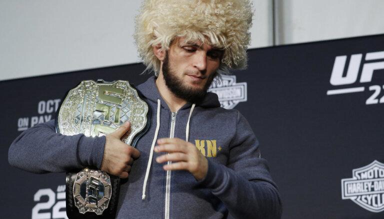 Хабиб — главе UFC: хорошо, что отдал мне пояс, а то разбил бы твою машину