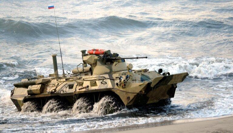 Krievija plānojot Kaļiņingradā izvietot motorizēto divīziju