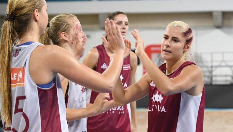 Ждем олимпийскую путевку: в Риге стартует женский чемпионат Европы по баскетболу
