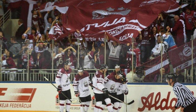 Latvijas hokeja izlase aizvada izšķirošo cīņu par 2018. gada Phjončhanas ziemas olimpiskajām spēlēm