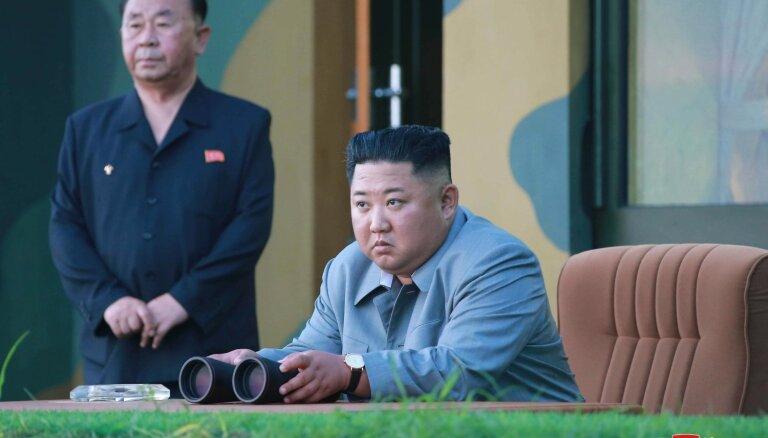 Ziemeļkoreja izšāvusi ballistisko raķeti