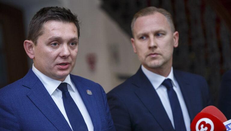Формирование правительства: Кайминьш готов отказаться от выдвижения Гобземса на министерский пост