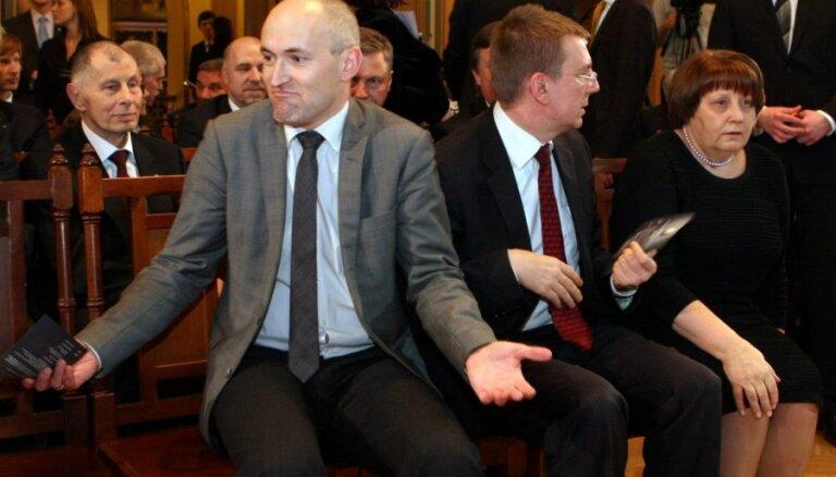 ФОТО: Лидеры ЕС и латвийские политики отпраздновали переход на евро