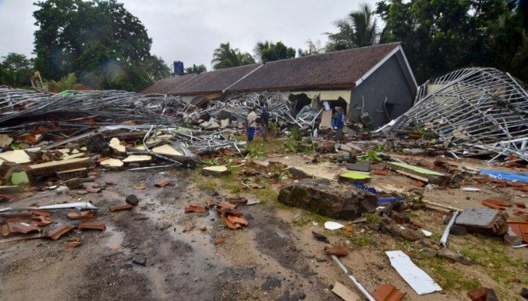 ĀM nav ziņu, ka Latvijas valstspiederīgie būtu cietuši cunami Indonēzijā