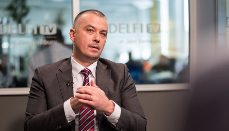 'Delfi TV ar Jāni Domburu': KNAB priekšnieks Jēkabs Straume. Intervijas teksts
