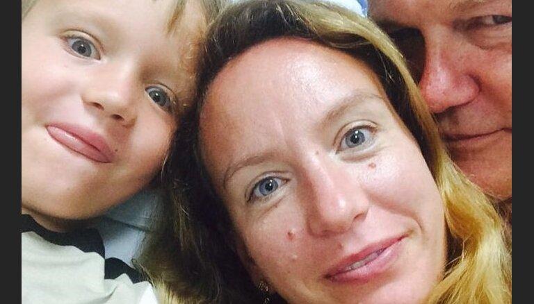 Sabīne par dzīvi Amerikā un dēliņa slimību: Latvijā atgriezties neplānoju