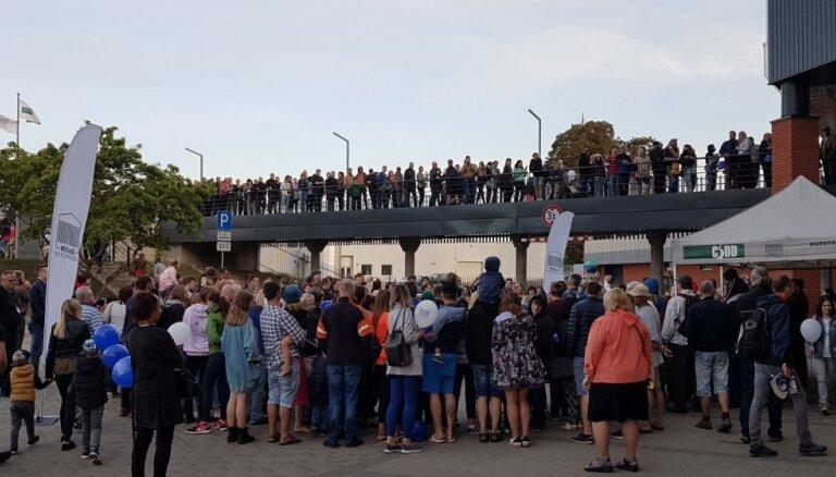 Rīgas Motormuzejā Muzeju dienā un naktī viesojušies 17 139 apmeklētāji