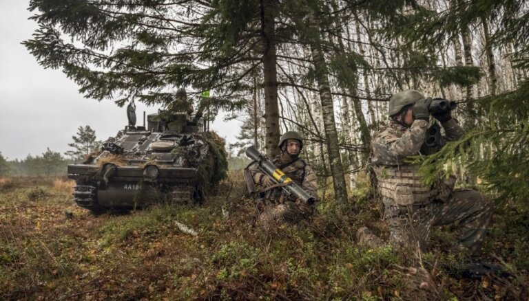 Sabiedroto karavīri piedalās militārajās mācībās 'Urban Combat'