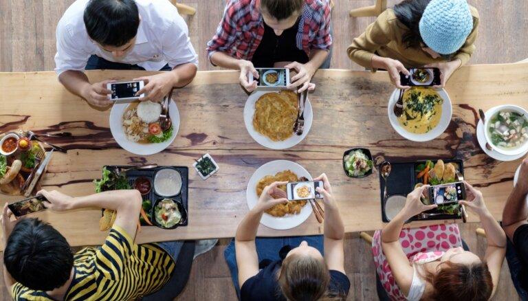 Ēdu – tātad esmu? Kāpēc mēs fotografējam ēdienu un ko tas par mums pastāsta
