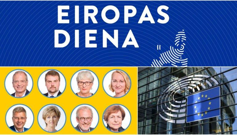 'Eiropas diena': Deputāti atskaitās par padarīto un darba augļiem