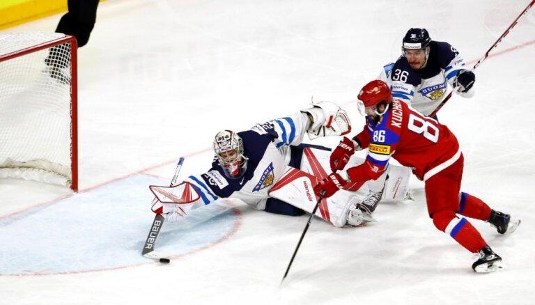 Сборная России пропустила три шайбы подряд, но бронзу ЧМ-2017 взяла