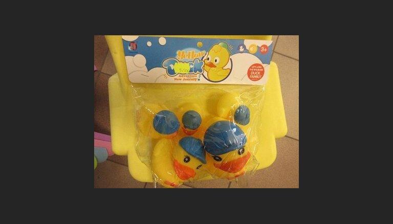 Из торговли изъята игрушка для ванны Yellow Duck